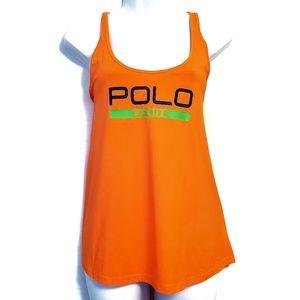 Ralph Lauren | Polo Sport Orange Muscle Tank